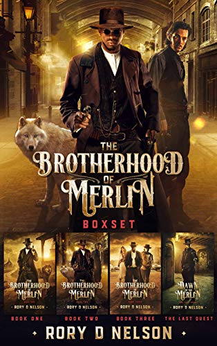 The Brotherhood of Merlin Boxset- The Prequel and Books 1-3